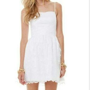 Lilly Pulitzer surrey dress in embroidered daisy 0
